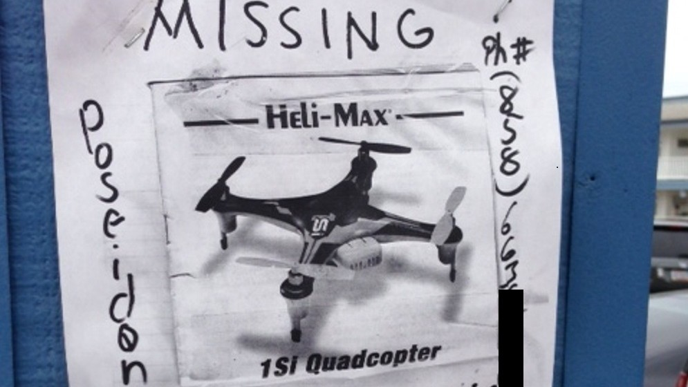 find a lost drone