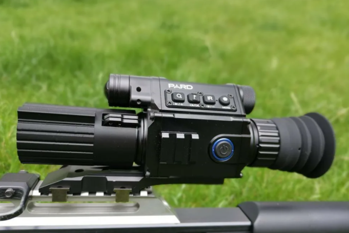 how to sight in a night vision scope