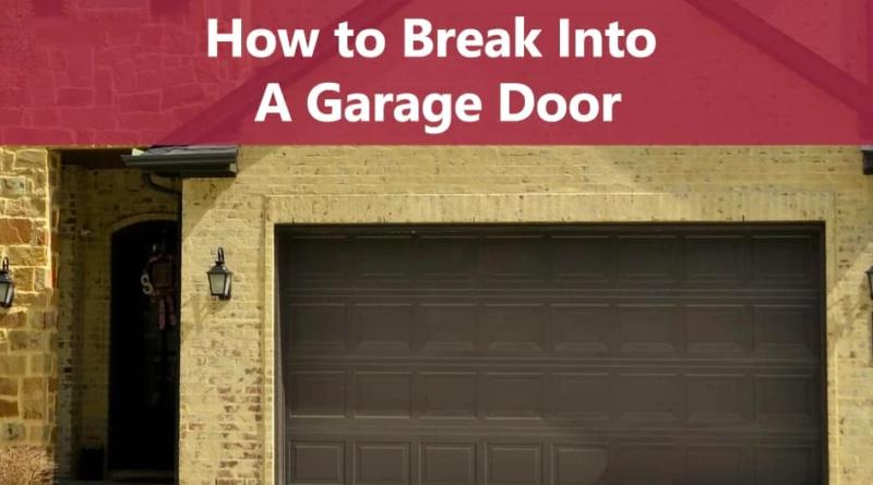 How to pick a garage door lock / Best Tips 2021